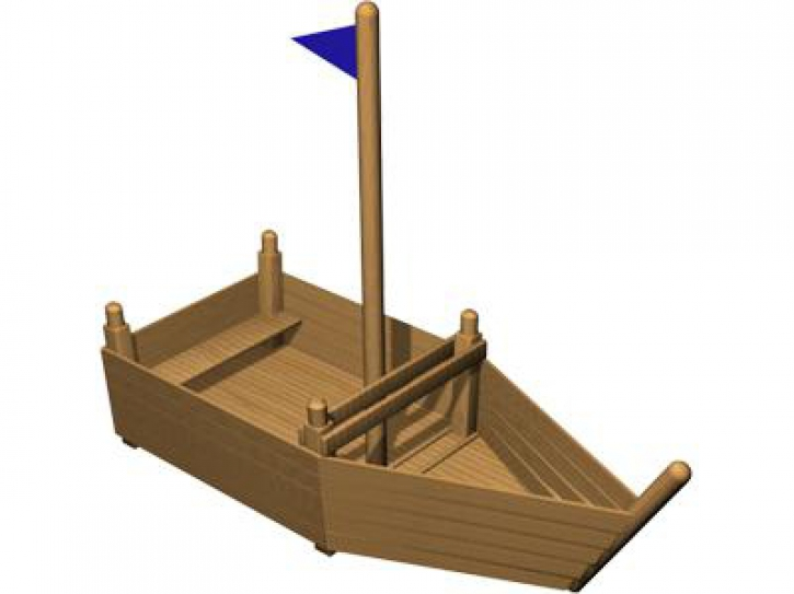 Лодка для ребенка своими руками 36